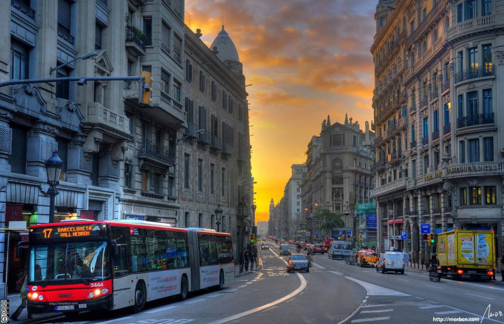 Barcelona offers competitive cost of living.
