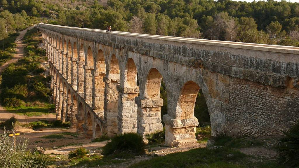 The Pont de les Ferreres is a Roman bridge, part of the Roman aqueduct built to supply water to the ancient city of Tárraco, today Tarragona, in Catalonia, Spain