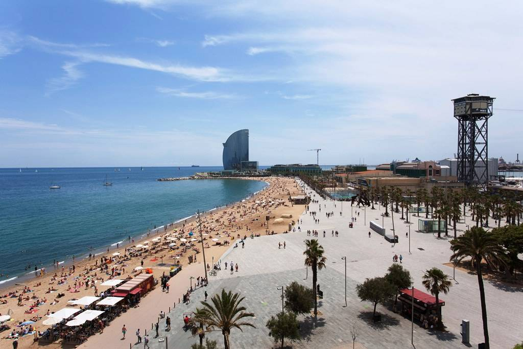 The weather in Barcelona beats that of any European city.