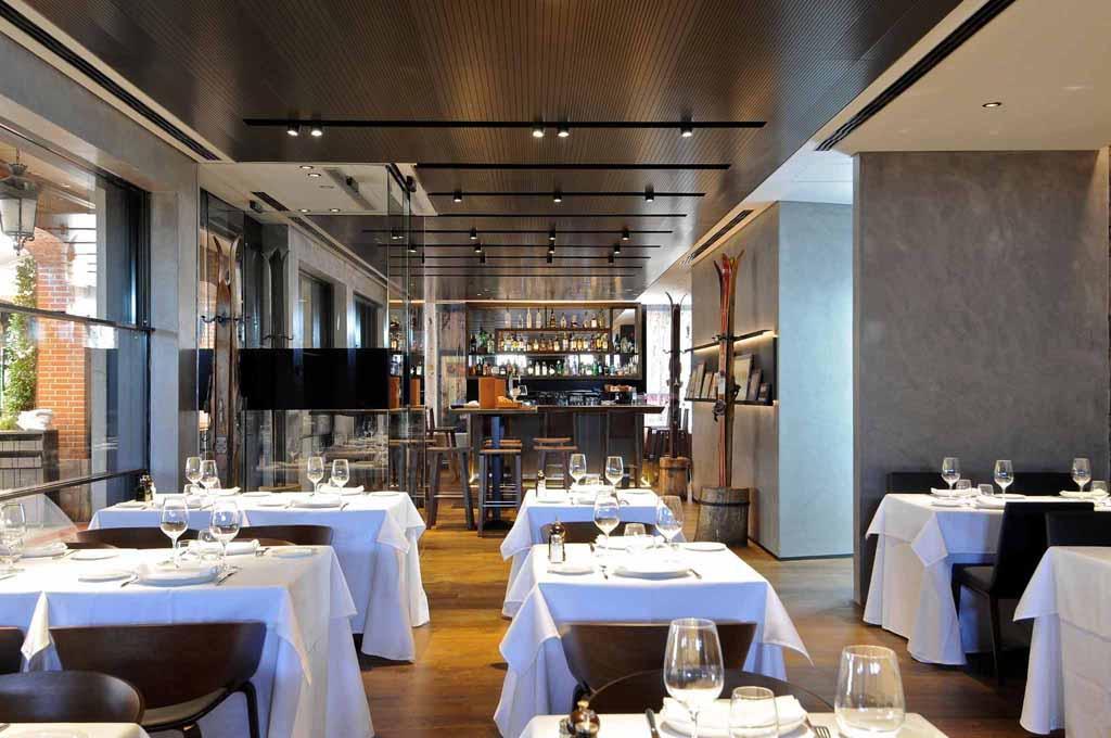 Trendsetting aspen restaurant in madrid revamps its