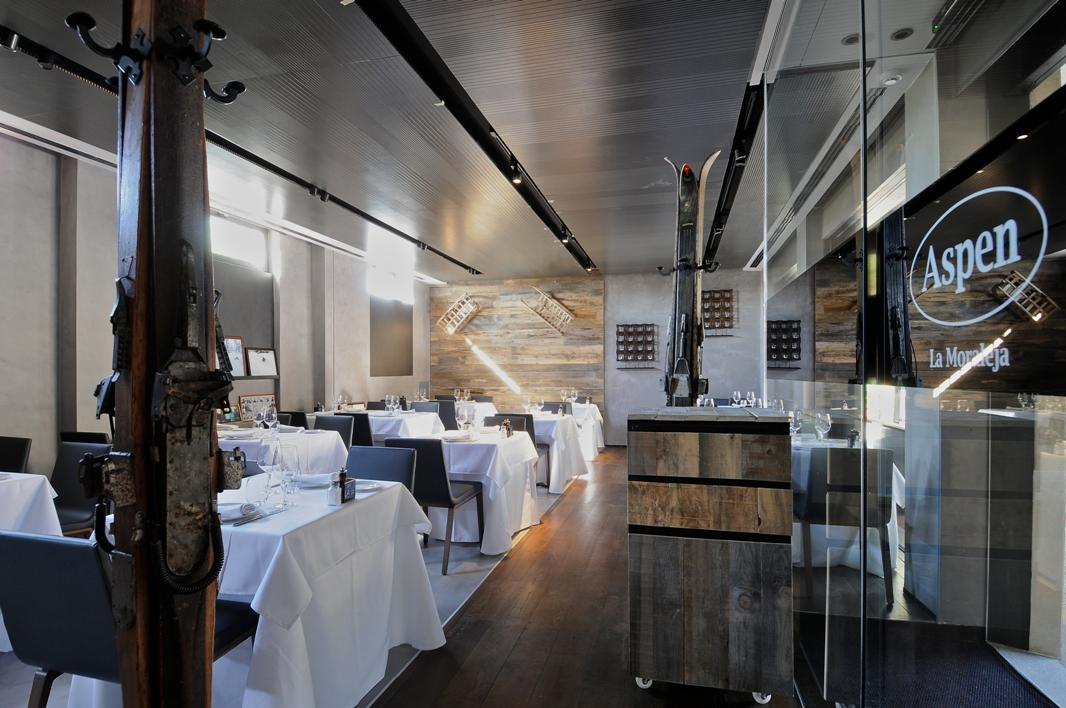 Trendsetting Aspen Restaurant In Madrid, Revamps Its Interior Design And Hires Renowned Chef Joaquín Felipe