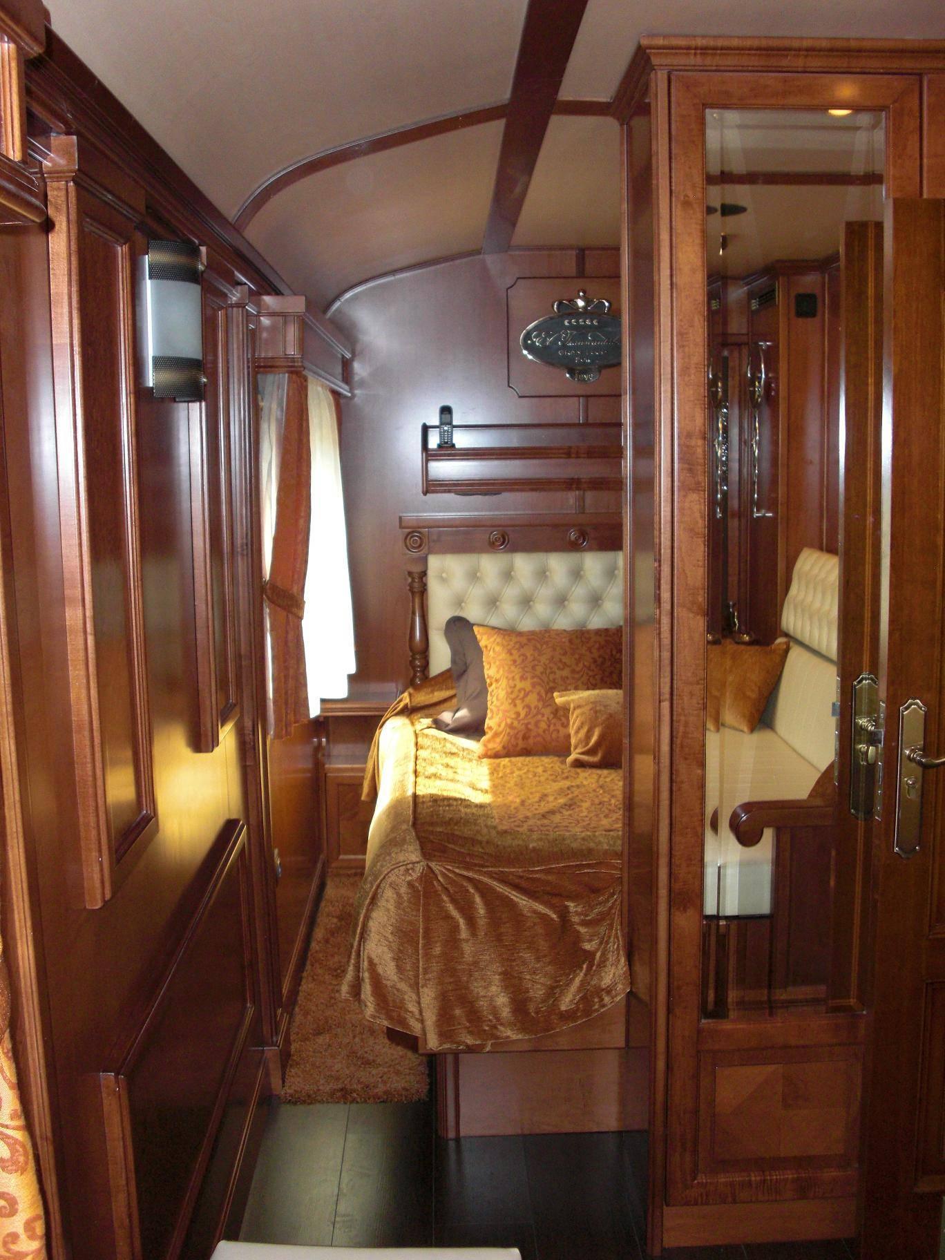 Private Train Car Interiors