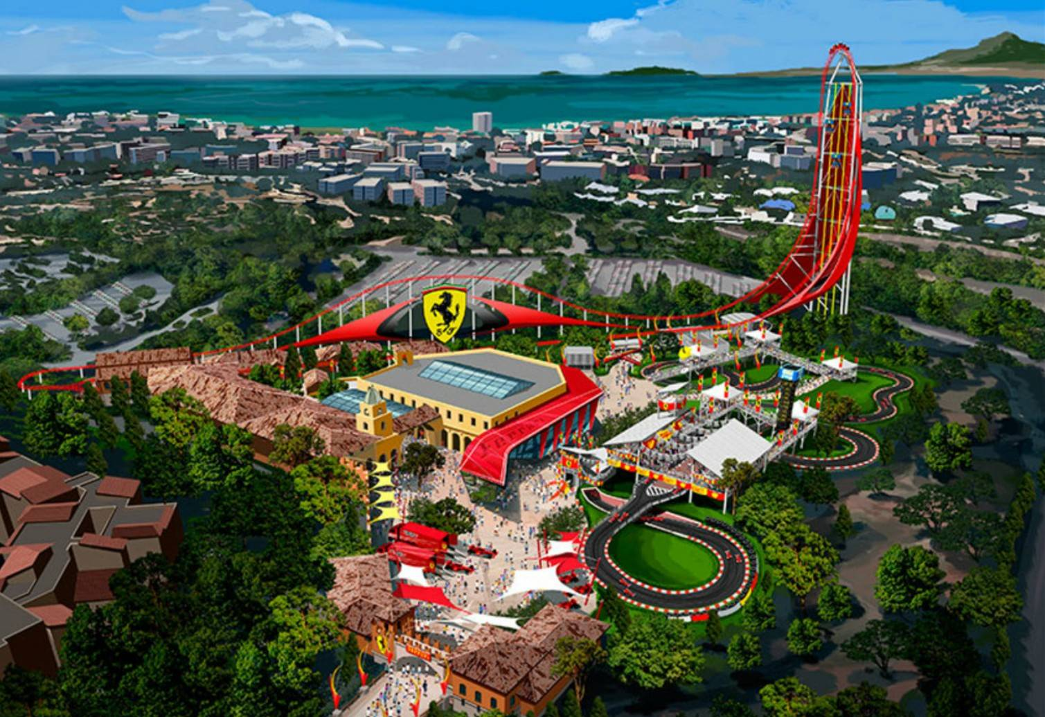 Ferrari Land Theme Park Spain