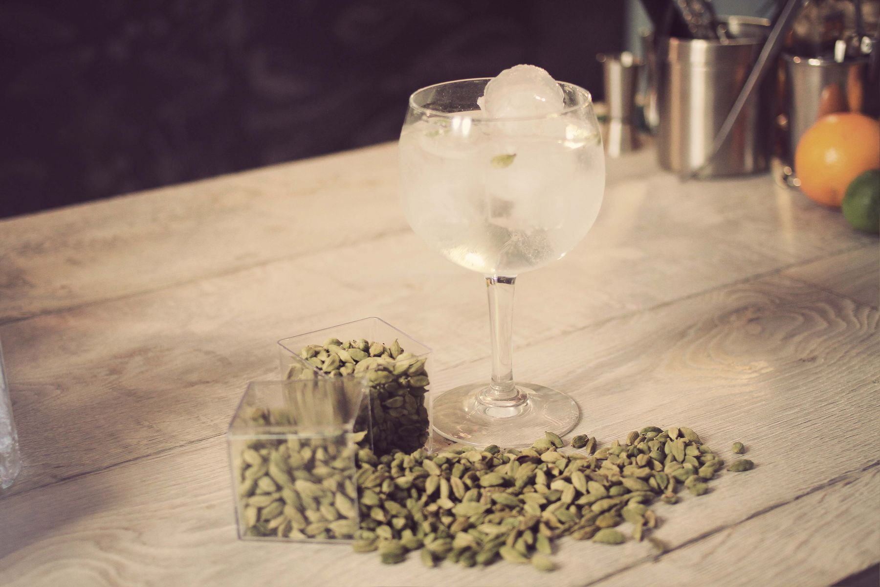 Gin and Tonic Spices - Green Cardamon