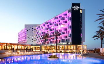 Hard Rock Hotel Ibiza, Where Trendiness Meets Luxury Right by The Sea