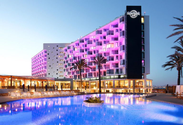 Hard Rock Hotel Ibiza, Where Trendiness Meets Luxury, Right by The Sea