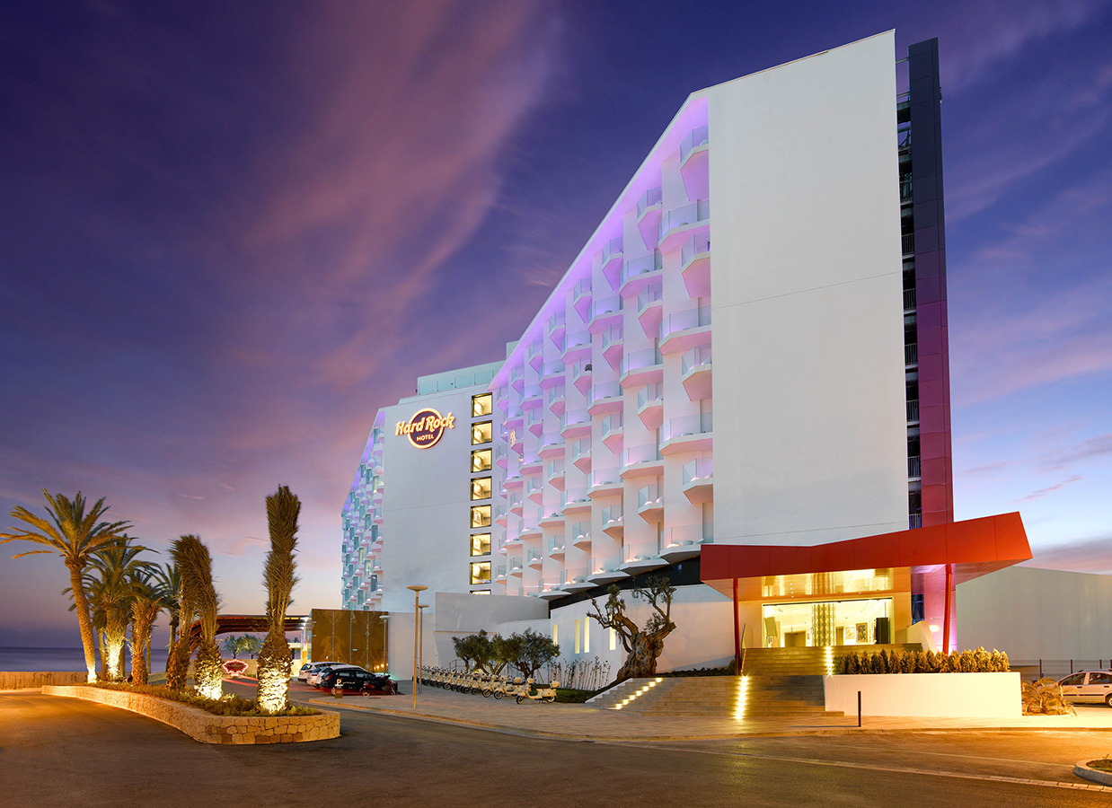 Hard Rock Hotel in Ibiza