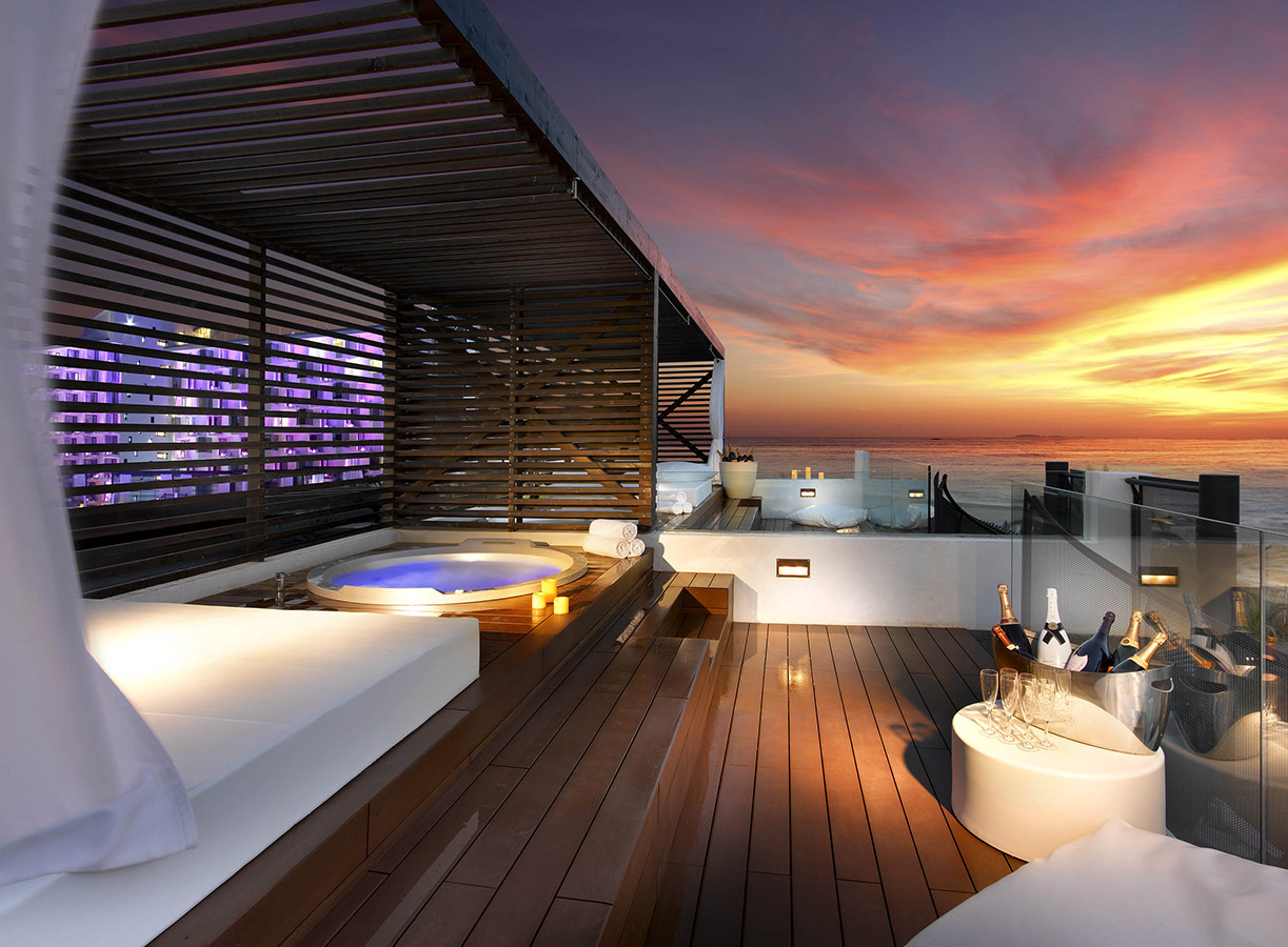 Hard Rock Hotel Ibiza Stunning Rooftop Bar