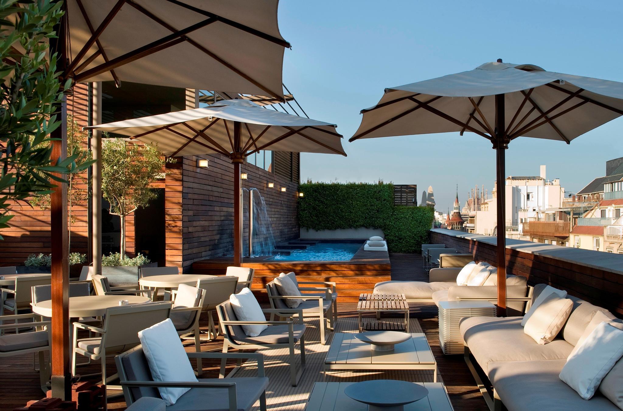 Hotel Omm Rooftop Pool