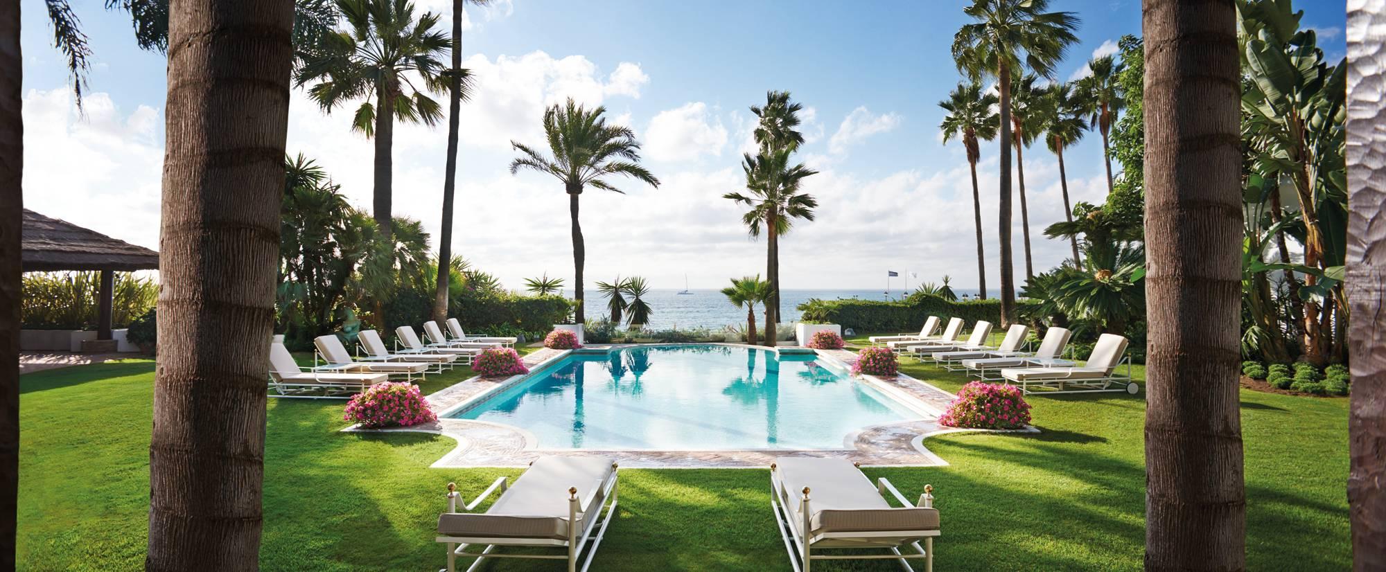 Marbella Club Villa del Mar - Pool Sea View