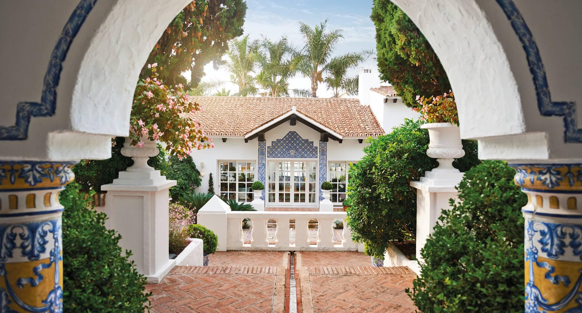 Marbella Club Villa del Mar - Central Entrance