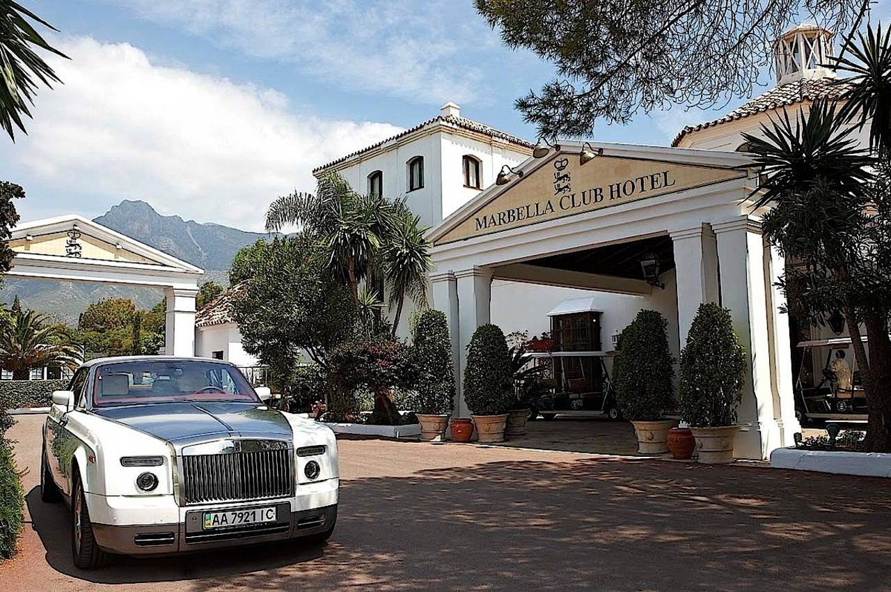 Marbella Club Entrance