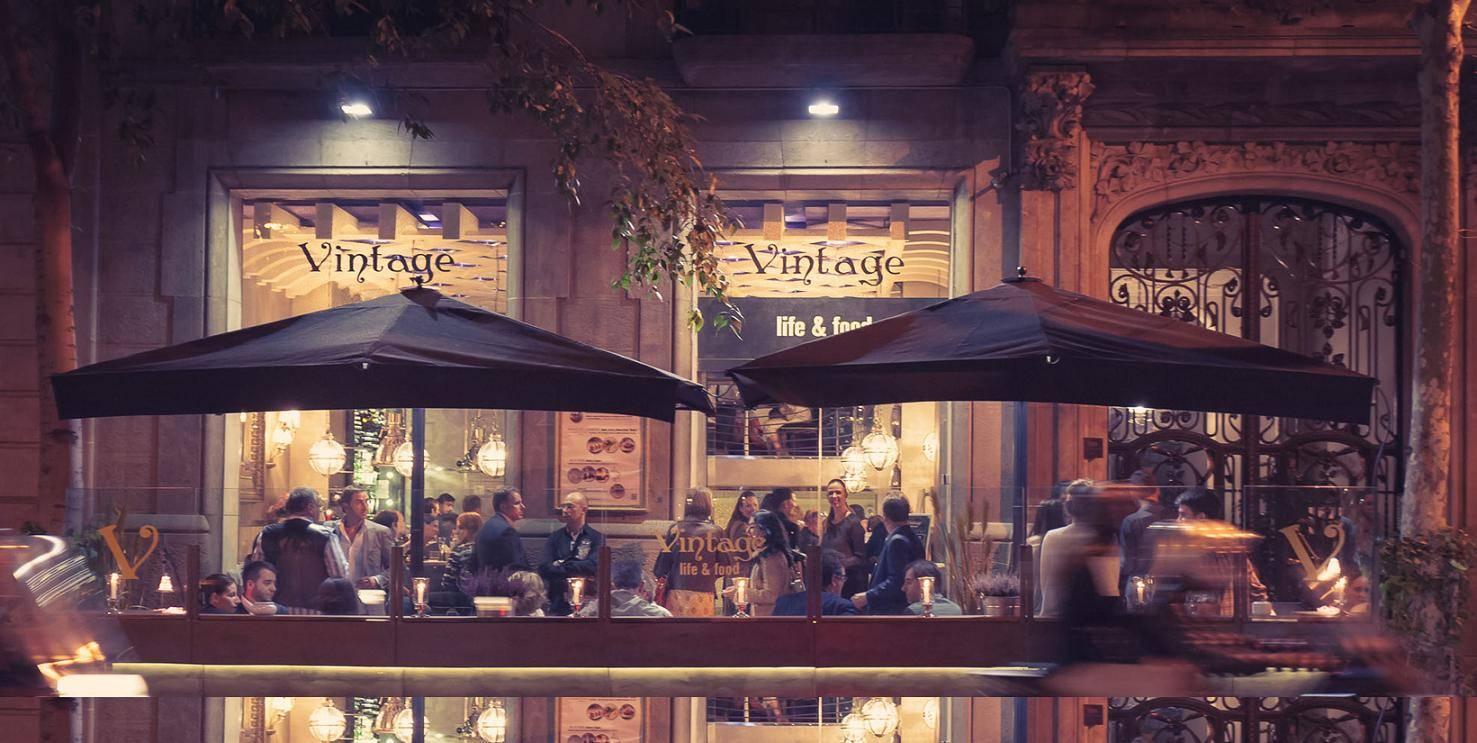 Restaurant Vintage Barcelona Terrace
