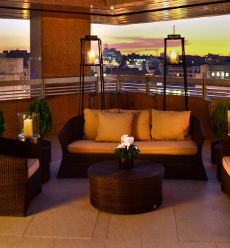 The 5 Star Hotel Villa Magna Embodies Fashion, History And Art In The Very Heart Of Madrid