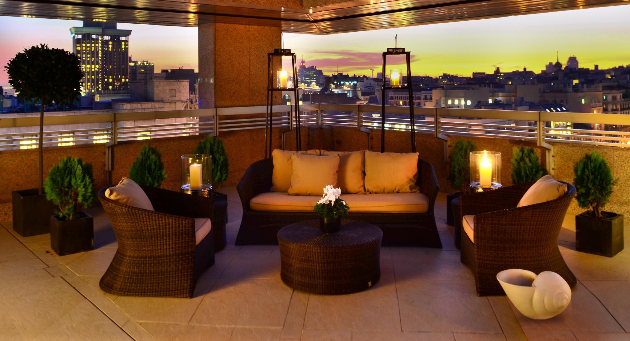 Suite Real Terrace Hotel Villa Magna, Madrid