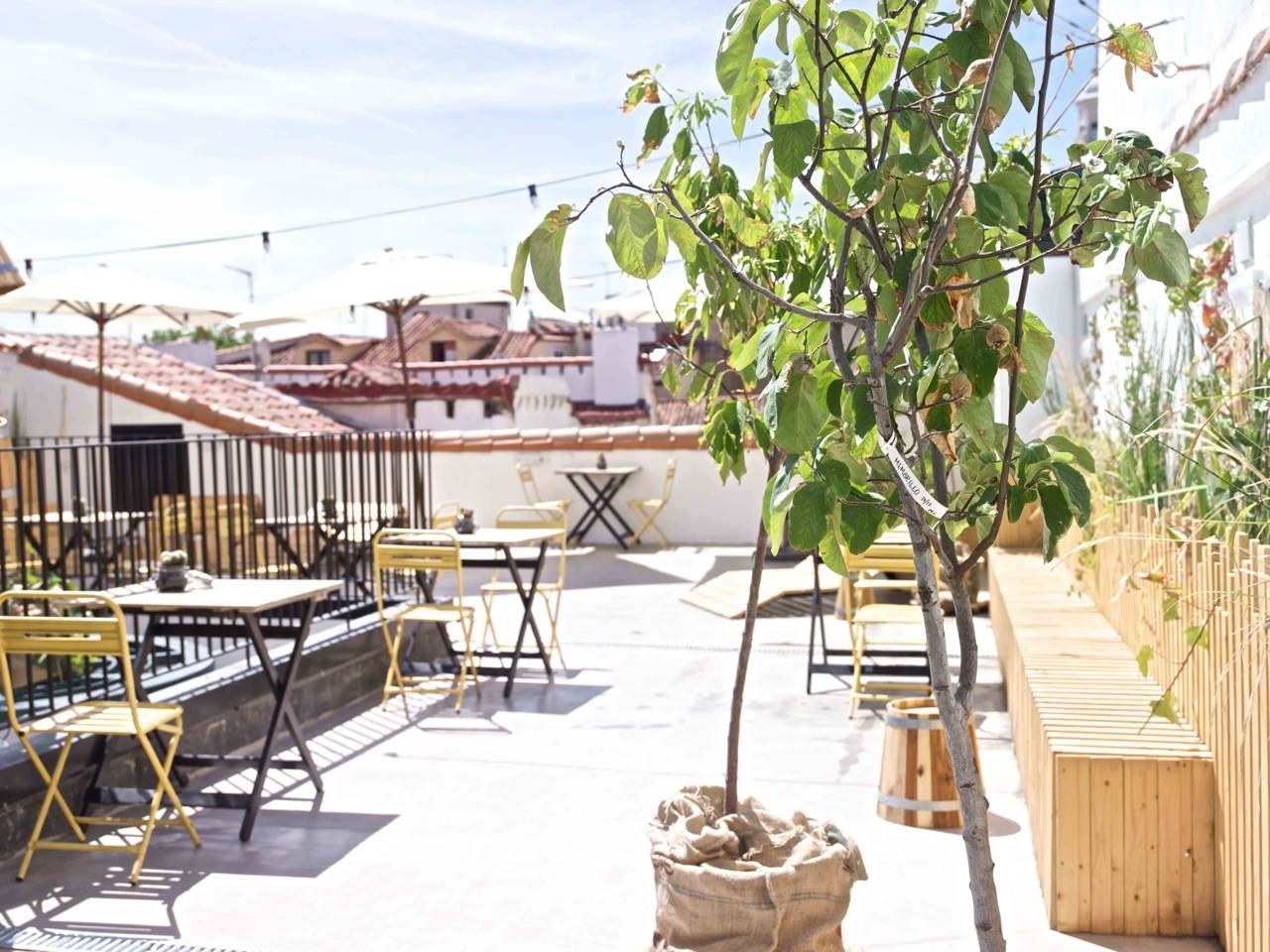 The Hat Hotel Madrid, Rooftop Terrace