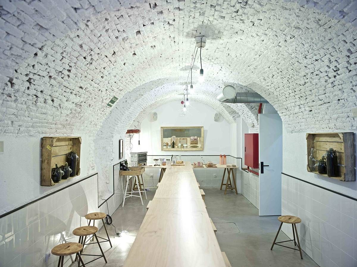 The Hat Hotel Madrid, The Cave