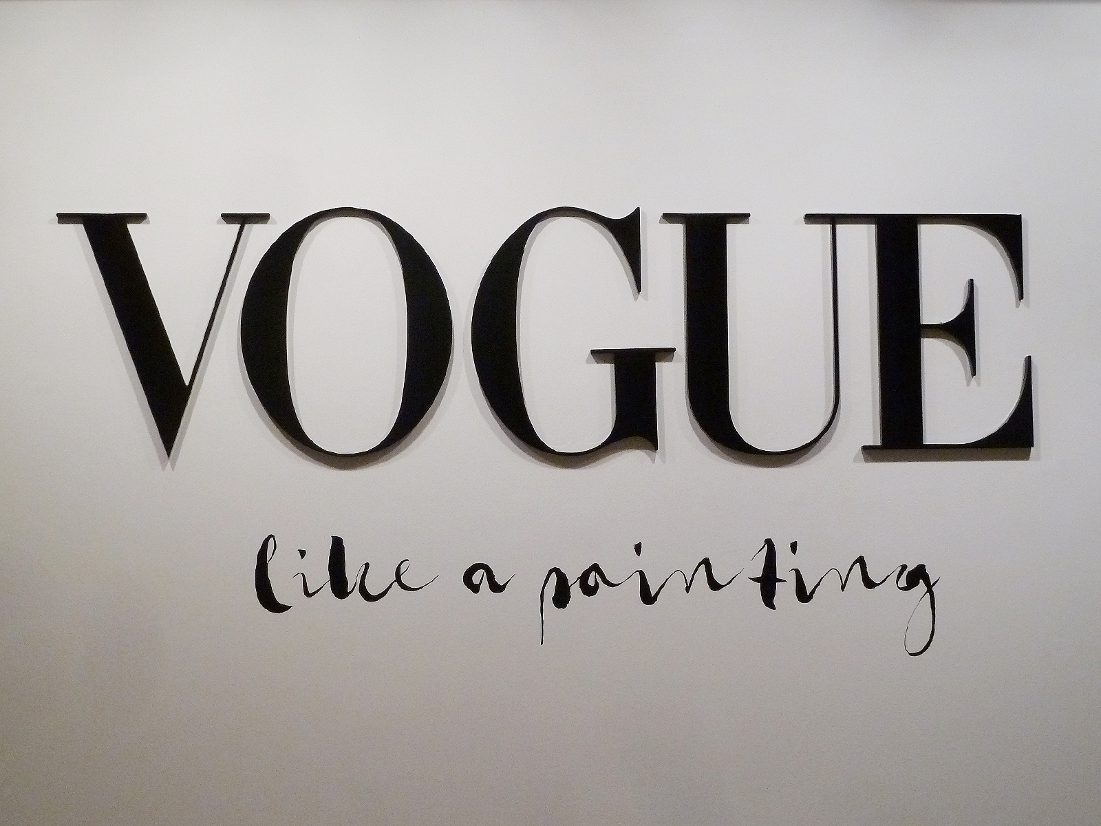 Vogue Like a Painting Art Exhibition in Madrid Takes High Fashion to High Art