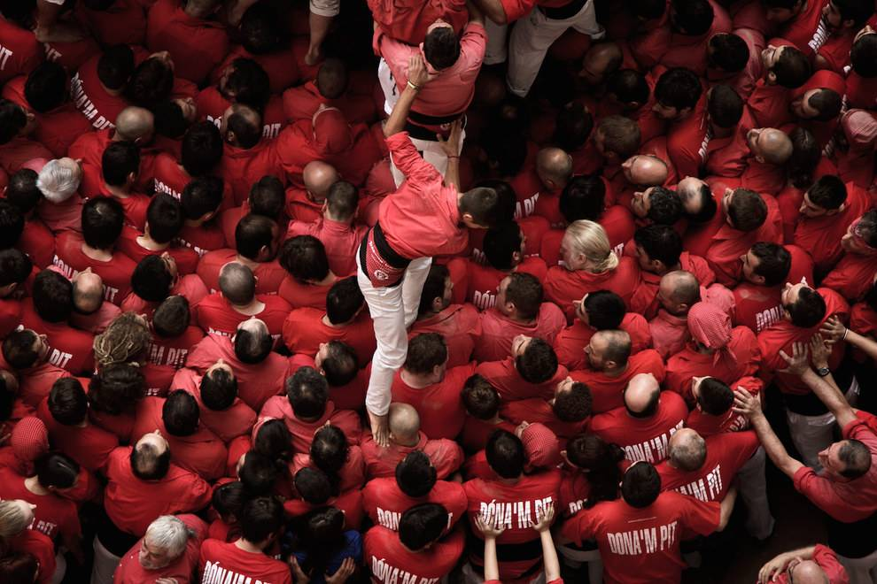 Concurs de Castells is the Human Tower Competition in Catalonia's Tarragona region.