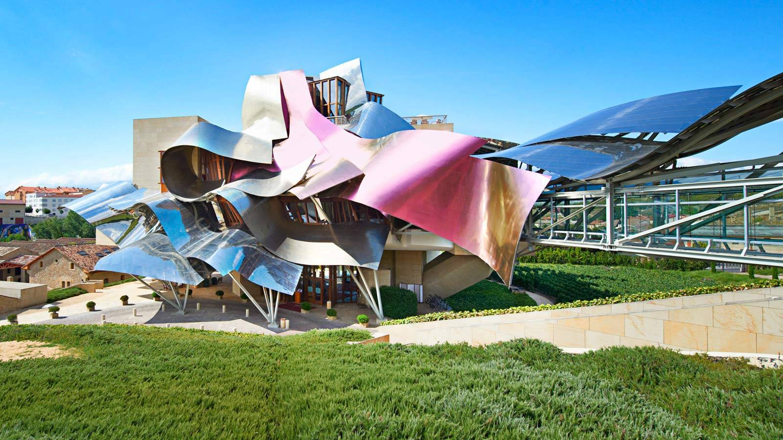 Hotel Marques de Riscal, Where The Art of Wine Making Meets Avant-garde Design Graced By Luxury